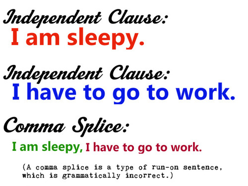Run On Sentences Comma Splice Errors T3 Daily Grammar Tool